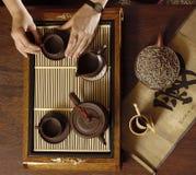 中国茶 免版税库存图片