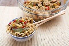 中国菜食物混合 免版税库存图片