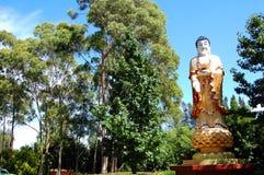中国菩萨雕象 库存图片