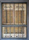 中国葡萄酒窗口 免版税库存照片