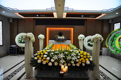中国葬礼地方 免版税库存图片