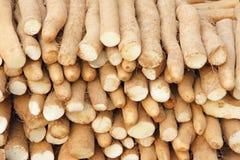 中国薯类 库存图片