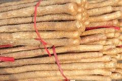 中国薯类 免版税图库摄影