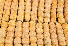 中国螃蟹偏爱的食物hoi我jor香肠 图库摄影