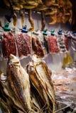 中国被保存的咸鱼纤巧 免版税库存图片