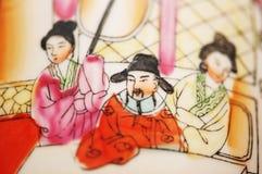 中国装饰品花瓶 库存照片
