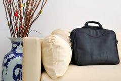 中国装饰新的手提箱结构树年 免版税图库摄影