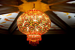 中国装饰灯笼 免版税库存照片