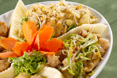 中国装饰的开胃菜 库存照片
