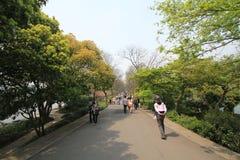 中国西湖文化风景视图 免版税库存图片