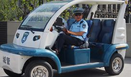 中国警察 免版税图库摄影