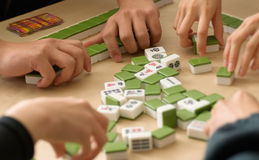 中国赌博 免版税图库摄影