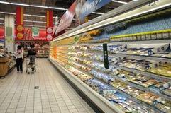 中国超级市场 免版税库存图片