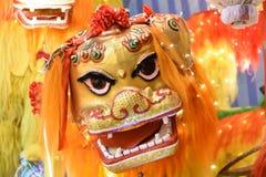 中国跳舞狮子 库存照片