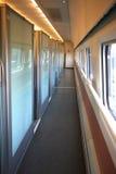 中国选件类教练第一高速火车 免版税库存照片