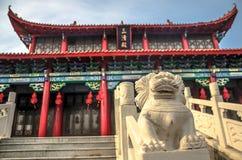 中国道士寺庙 免版税库存图片
