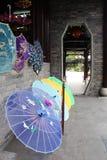 中国遮阳伞 图库摄影