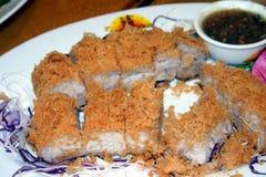 中国酥脆鸭子薯类 免版税库存图片