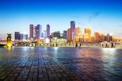 中国重庆市光 免版税库存图片
