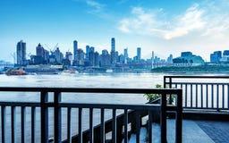 中国重庆市光 库存照片