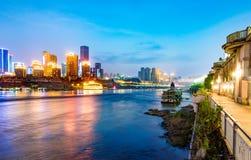 中国重庆市光 免版税库存照片