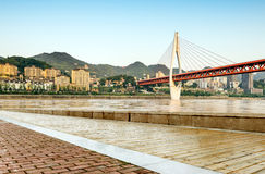 中国重庆都市风景 免版税库存图片