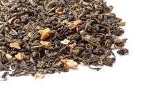 中国银色下来针头发空白茶 免版税库存图片
