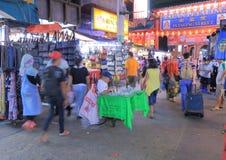 中国镇吉隆坡 免版税库存图片