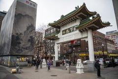 中国镇在波士顿 免版税图库摄影