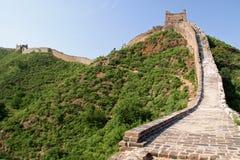 中国长城-金山岭整洁的北京,中国 免版税库存图片