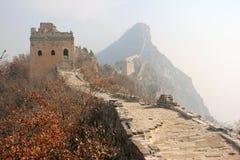 中国长城 免版税库存图片