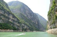 中国长江三峡风景精华 库存照片