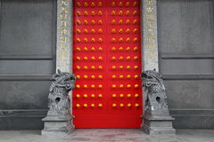 中国门寺庙 图库摄影