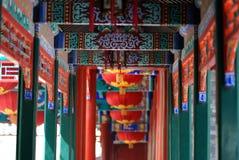 中国门廊 库存图片