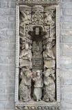中国雕塑 库存图片