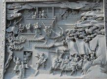 中国雕塑 免版税图库摄影