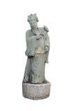 中国雕塑 免版税库存照片