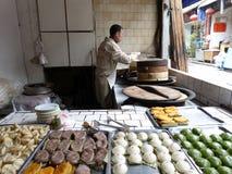 中国面包店在同里水镇 免版税库存图片