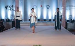 中国音乐仪器时尚第二十五系列显示 免版税图库摄影