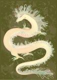 中国颜色dragon博士巨大例证 免版税图库摄影