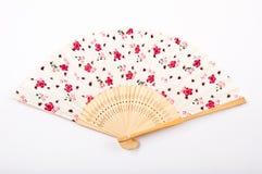 中国风扇丝绸 免版税库存图片