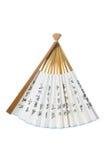 中国风扇纸张 免版税图库摄影