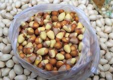 中国食品成分,银杏树坚果 库存照片
