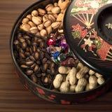 中国食物新年度 库存照片