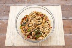 中国食物混合 免版税库存图片