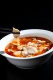 中国食物烂醉如泥的鱼 库存照片