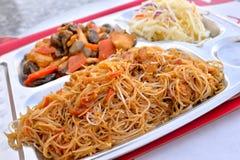 中国食物 免版税库存照片