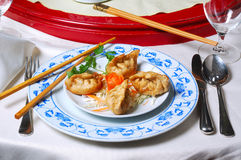 中国食物 免版税图库摄影