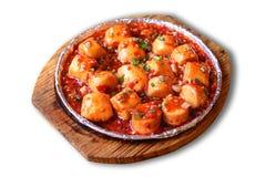 中国食物mapo豆腐 库存图片