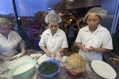 中国餐馆厨房,多伦多 免版税库存图片